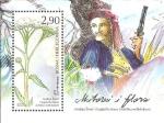 Sellos del Mundo : Europa : Bosnia_Herzegovina : flora, achillea millefolium