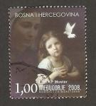 Sellos del Mundo : Europa : Bosnia_Herzegovina : santuario de la virgen maría de medugorje