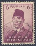 Sellos de Asia - Indonesia -  Achmed Sukarno