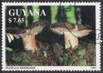Sellos del Mundo : America : Guyana : SETAS-HONGOS: 1.162.032,00-Russula nigricans