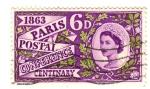 Sellos del Mundo : Europa : Reino_Unido : Centenario conferencia Postal Paris