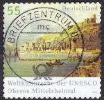 Sellos de Europa - Alemania -  El valle alto del Rhin. Declarad
