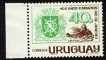 Sellos de America - Uruguay -  400 años de la Fundacion de Rio de Janeiro