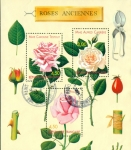 Sellos del Mundo : Europa : Francia : Rosas antiguas