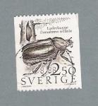 Sellos del Mundo : Europa : Suecia : Laderbagge Osmoderma Eremita