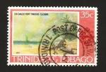 Sellos del Mundo : America : Trinidad_y_Tobago : los gallos punto trinidad, cazabon