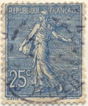 Sellos del Mundo : Europa : Francia : Republique française postes
