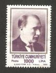Sellos de Asia - Turquía -  2653 - Atatürk