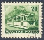 Sellos de Europa - Hungría -  tranvia