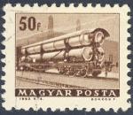 Sellos de Europa - Hungría -  vagon de ferrocarril