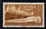 Sellos de Europa - España -  1958 27º Congreso Ferrocarriles Edifil 1232