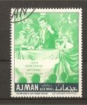 Sellos del Mundo : Asia : Emiratos_Árabes_Unidos :  Kennedy.