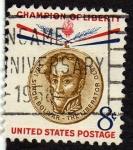 Sellos de America - Estados Unidos -  Simon Bolivar