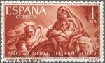 Sellos de Europa - España -  AÑO MUNDIAL DEL REFUGIADO