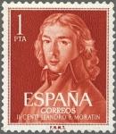 Sellos del Mundo : Europa : España : IICENTENARIO DEL NACIMIENTO DE LEANDRO FERNANDEZ DE MORATIN