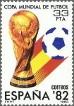 Sellos del Mundo : Europa : España : COPA MUNDIAL DE FUTBOL ESPAÑA 82