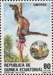 Sellos de Africa - Guinea Ecuatorial -  Bailes y Danzas Típicas - Baile Fang