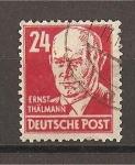 Sellos de Europa - Alemania -  Emil Thalmman.