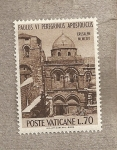 Sellos de Europa - Vaticano -  Iglesia Santo Sepulcro Jerusalem