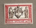 Sellos de Europa - Vaticano -  Escudo de Juan XXIII
