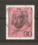 Sellos de Europa - Alemania -  Friedrich Holderlin.