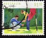 Sellos de Oceania - Australia -  Golf