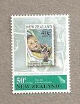 Sellos del Mundo : Oceania : Nueva_Zelanda :  80 Aniv. de los sellos de salud