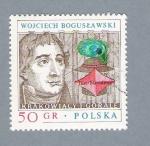 Sellos de Europa - Polonia -  Wojciech Boguslawski
