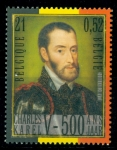 Sellos del Mundo : Europa : Bélgica : 5º Centenario Carlos V