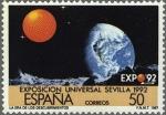 Sellos de Europa - España -  EXPOSICION UNIVERSAL DE SEVILLA EXPO