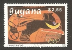 Sellos del Mundo : America : Guyana : olimpiadas Barcelona 92