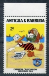 Sellos de America - Antigua y Barbuda -  50 cumpleaños de Donald