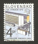 Sellos del Mundo : Europa : Eslovaquia : maquina clasificadora automatica del correo