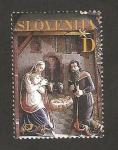 Sellos del Mundo : Europa : Eslovenia : navidad