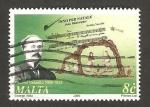 Sellos del Mundo : Europa : Malta :  paolino vassallo