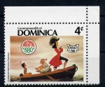 Sellos del Mundo : America : Dominica : Peter Pan