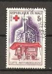 Sellos de Africa - Mali -  Lucha contra la tuberculosis.