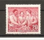 Sellos de Europa - Alemania -  45 Aniversario del dia de la Mujer.