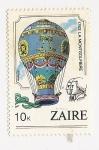 Sellos del Mundo : Africa : República_del_Congo : 1783 La Montgolfiere ( Aviation bicentenary)