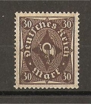 Sellos de Europa - Alemania -  Rep. Weimar / Corneta Postal.
