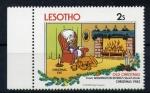 Sellos del Mundo : Africa : Lesotho : Navidad