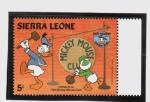 Sellos del Mundo : Africa : Sierra_Leona : 50 cumpleaños de Donald