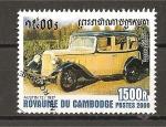 Sellos de Asia - Camboya -  Automoviles.