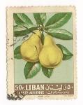Sellos de Asia - Líbano -  Frutas