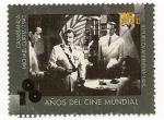 Sellos de America - Argentina -  100 años del cine mundial