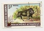 Sellos de Africa - Benin -  Phacochoerus  Aethiopicus