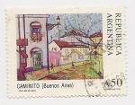Sellos de America - Argentina -  Caminito (Buenos Aires)