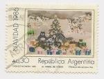 Sellos de America - Argentina -  Navidad 1986