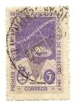 Sellos de America - Argentina -  Primer Correo Antártico