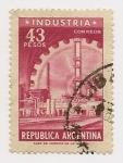Sellos de America - Argentina -  Industria